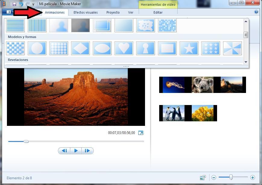 Crea-tu-vídeo-paso-a-paso-con-Tutorial-Movie-Maker-para-windows-7-editar-edicion-diseño-instalar-Elegir-los-programas-que-deseas-instalar-boton-animación-seleccionar