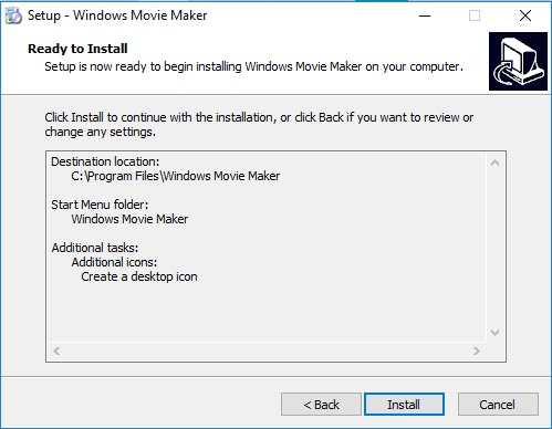instalar movie maker programa
