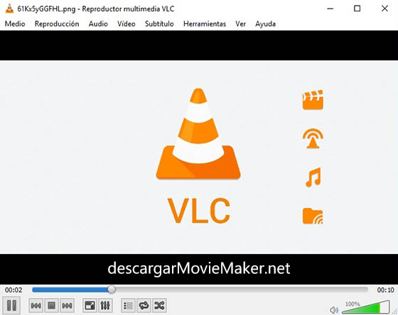 reproductor de video descargar vlc media player